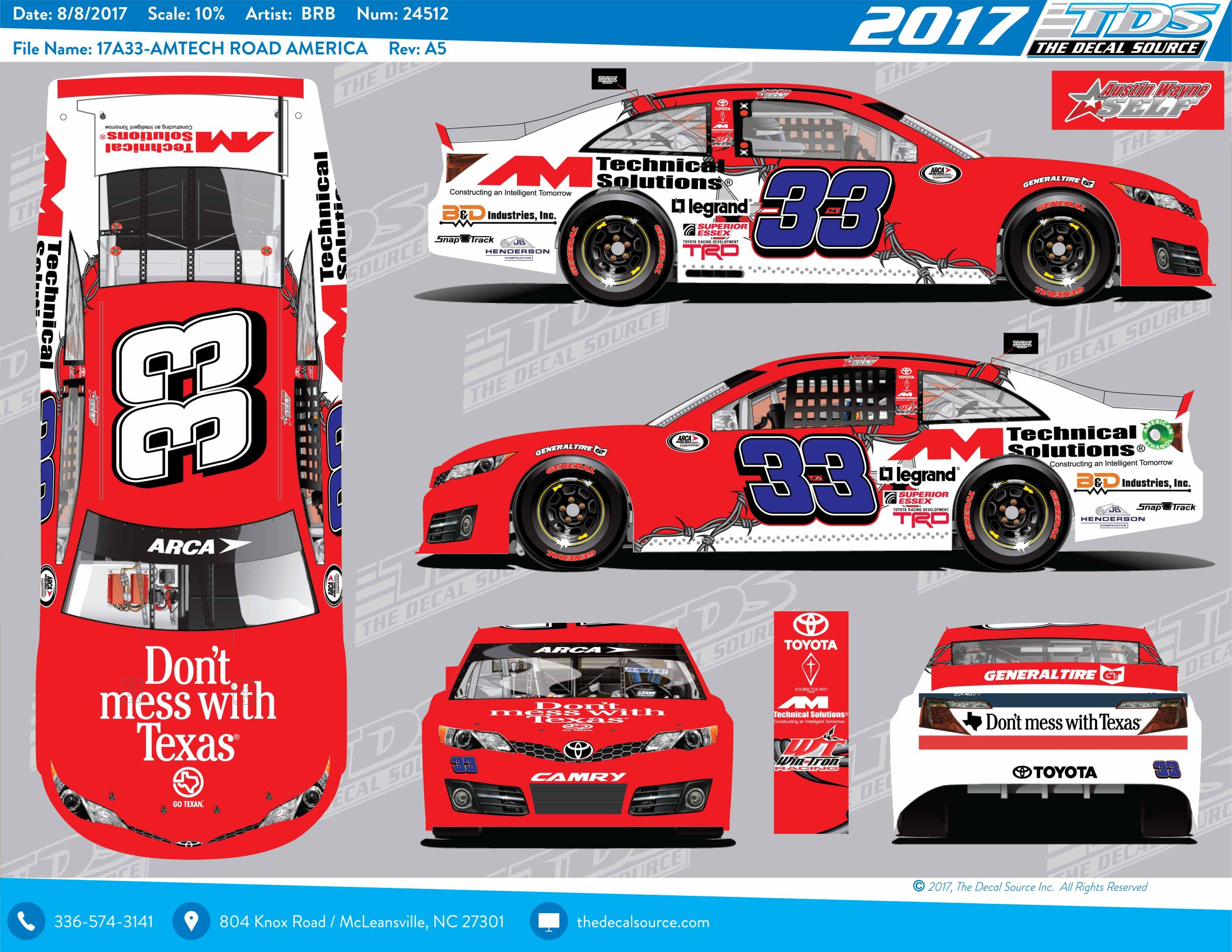 austin wayne self excited for arca return in road america debut rh catchfence com